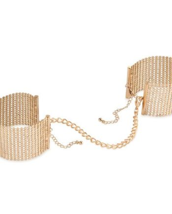 91D-197025 - SexyPlay.es  Desir metallique esposas malla metalicas doradas