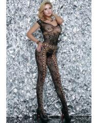 91D-208675 - SexyPlay.es Queen lingerie bodystocking negro exclusive
