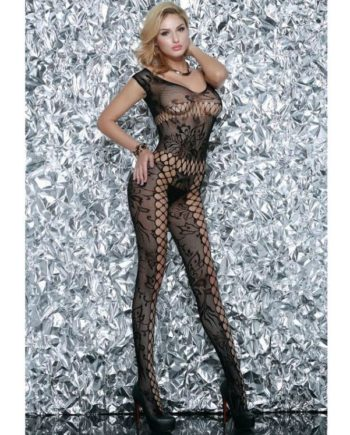 91D-208675 - SexyPlay.es  Queen lingerie bodystocking negro exclusive