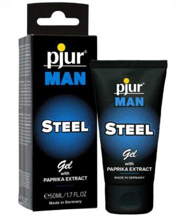 91D-210256 - SexyPlay.es  Pjur man steel gel estimulante 50 ml