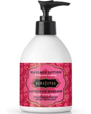 91D-210633 - SexyPlay.es  Kamasutra crema de masaje sueño de fresa 295ml
