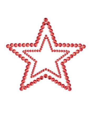 91D-23625 - SexyPlay.es  Mimi start cubre pezones rojo