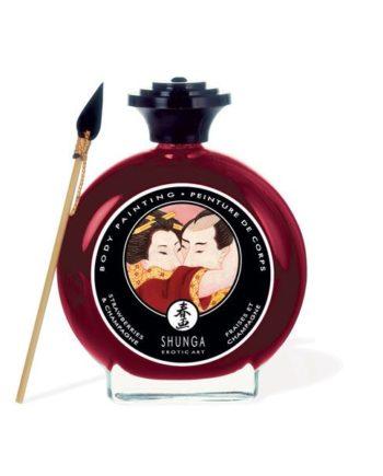 91D11-201199 - SexyPlay.es  Shunga pintura corporal de fresas y champagne.