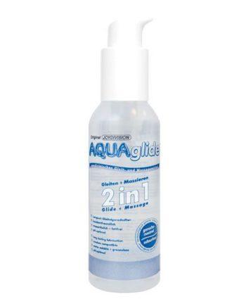 91D11740 - SexyPlay.es  Aquaglide 2 en 1 lubricante + masaje 125 ml