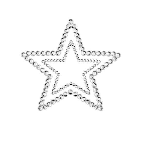 91D-23623 - SexyPlay.es  Mimi start cubre pezones plata