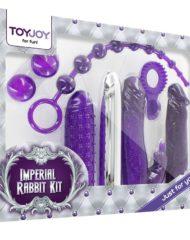 91D-202999 - SexyPlay.es Toy joy imperial rabbit kit dark purple