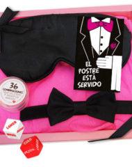 91D-210061 - SexyPlay.es  Kit erótico antifaz el postre está servido