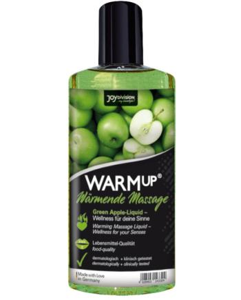 91D-214788 - SexyPlay.es  Aquaglide - warmup aceite de masaje manzana verde 150 ml