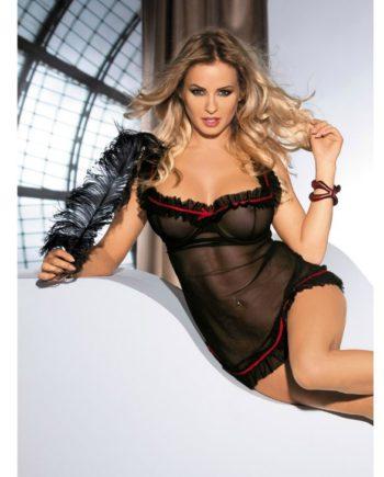 91D-209042 - SexyPlay.es  Avanua lola chemise negro