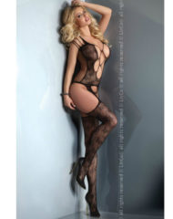 91D-208380 - SexyPlay.es  Bansari livia corseti cuerpo en red  negro s/l