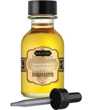 91D-215299 - SexyPlay.es  Kamasutra oil of love aceite comestible especial preliminares - vainilla 22 ml
