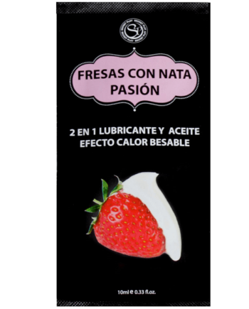 91D-212631 - SexyPlay.es  Lube fresas con nata 10ml