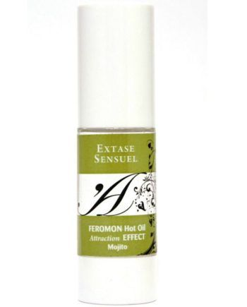 91D-201737 - SexyPlay.es  Extase sensuel aceite de masaje efecto calor con feromonas mojito 30ml