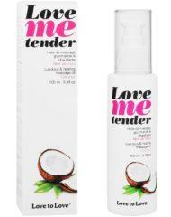 91D-202889 - SexyPlay.es  Love to love me tender masaje & efecto calor sabor a coco 100ml