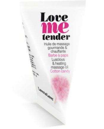 91D-208967 - SexyPlay.es  Love me tender aceite masaje sensua estimulante  nubes algodon 10ml