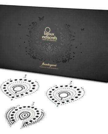 91D55-22137 - SexyPlay.es  Bijoux indiscrets flamboyant negro&plata