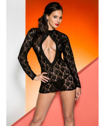 91D-208998 - SexyPlay.es  Avanua rayen chemise negro