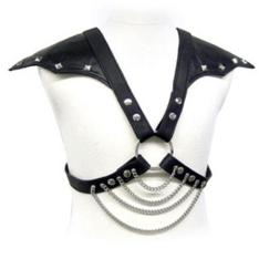 91D-205761 - SexyPlay.es  Leather body metal y hombros