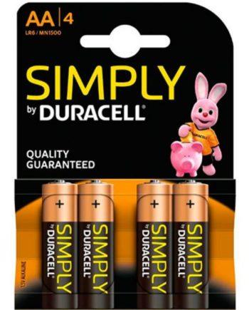 91D-219122 - SexyPlay.es  Duracell basic pila alcalina aa lr6 blister*4