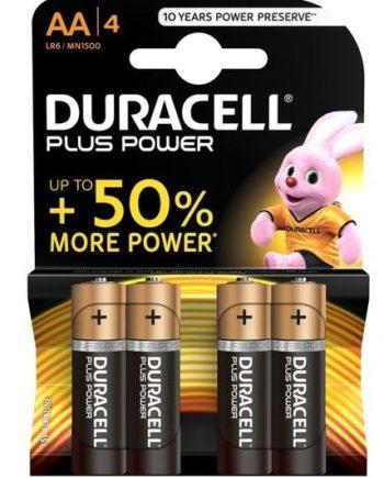 91D-219124 - SexyPlay.es  Duracell plus power pila alcalina aa lr6 blister*4