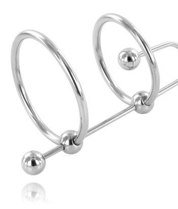 91D-205390 - SexyPlay.es  Metalhard extreme  anillo con stop uretra