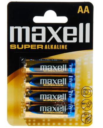 91D-219095 - SexyPlay.es  Maxell pila super alkaline aa lr6 blister*4