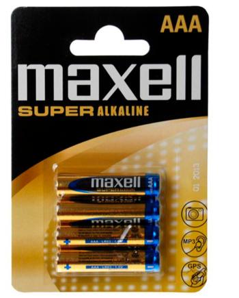 91D-219096 - SexyPlay.es  Maxell pila super alkaline aaa lr03 blister*4