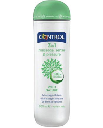 91D-221039 - SexyPlay.es  Control wild nature gel masaje 3 en 1 200 ml