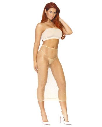 91D-220259 - SexyPlay.es  Leg avenue vestido convertible de tubo beige talla única