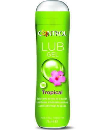 91D-220492 - SexyPlay.es  Control lub gel lubricante tropical 75 ml