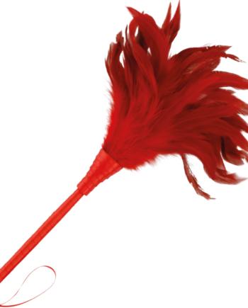 91D-221178 - SexyPlay.es  Darkness pluma estimuladora rojo 24cm