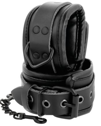 91D-221228 - SexyPlay.es  Darkness  esposas ajustables manos leather negro