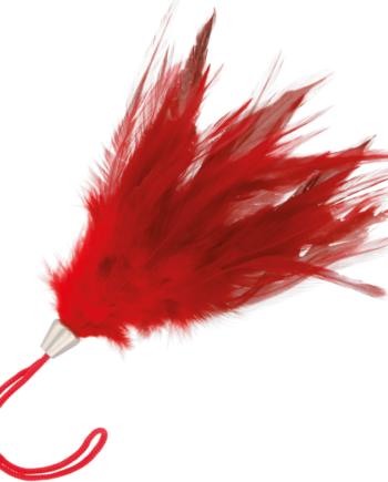 91D-221173 - SexyPlay.es  Darkness pluma estimuladora rojo 17cm