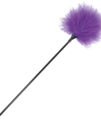 91D-221174 - SexyPlay.es  Darkness pluma estimuladora lila 42cm