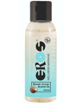 91D-221685 - SexyPlay.es  Eros wellness aceite masaje coco 50 ml