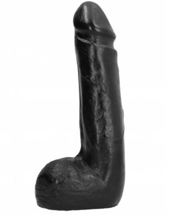 91D-195378 - SexyPlay.es  All black dildo realistico negro suave 20 cm