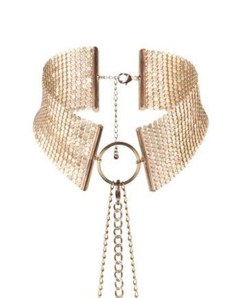 91D-197024 - SexyPlay.es  Désir métallique collar metálico dorado