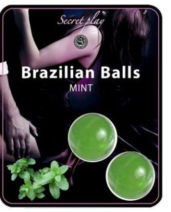 91D-197613 - SexyPlay.es  Brazilian balls  menta set  2 bolas