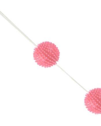 91D-219243 - SexyPlay.es  A deeply pleasure bolas texturadas rosa 3.6 cm
