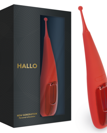 91D-219471 - SexyPlay.es  Hallo focus potente vibrador touch rojo