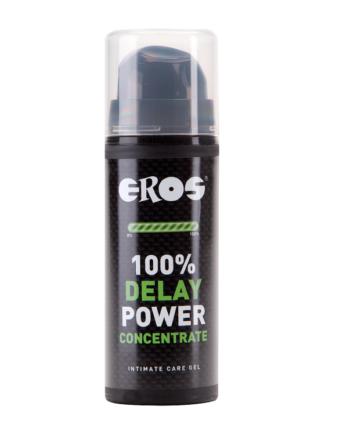 91D-203260 - SexyPlay.es  Eros 100% gel retardante concentrado 30 ml