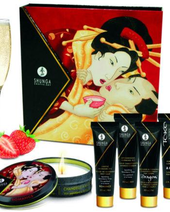 91D-211490 - SexyPlay.es  Kit secret geisha fresa champagne