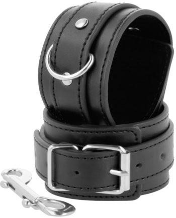 91D-221236 - SexyPlay.es  Darkness  esposas ajustables negro con doble cinta refuerzo