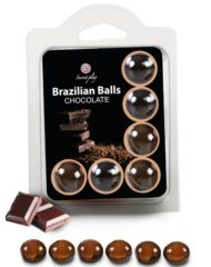 91D-222204 - SexyPlay.es  Secretplay set 6 brazilians balls chocolate