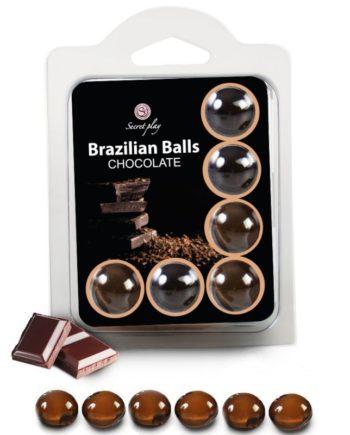 91D-222204 - SexyPlay.es  Secretplay set 6 brazilians balls chocolate