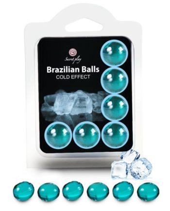 91D-222211 - SexyPlay.es  Secretplay set 6 brazilian balls efecto frio
