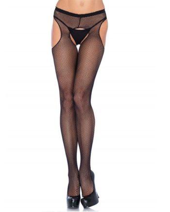 911402Q - SexyPlay.es  Leg avenue pantys de rejilla con aberturas plus
