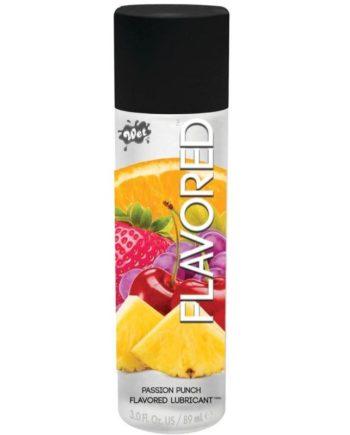 91D-205989 - SexyPlay.es  Wet flavored lubricante fruta de la pasión 89 ml