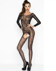 91D-216431 - SexyPlay.es  Passion woman bs042 bodystocking negro talla única