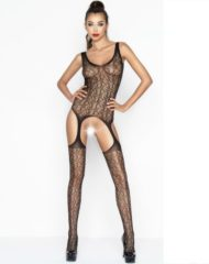 91D-216433 - SexyPlay.es  Passion woman bs043 bodystocking negro talla única